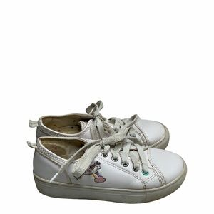 My life is magical girls white unicorn sneakers